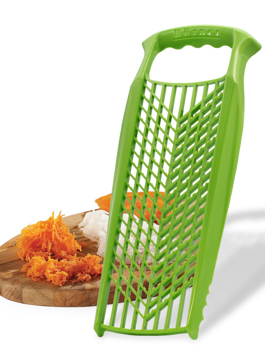 Терка для детского питания Borner Prima, цвет: салатовый терка для ног деревянная основа двухсторонняя solinberg ширина 60 мм