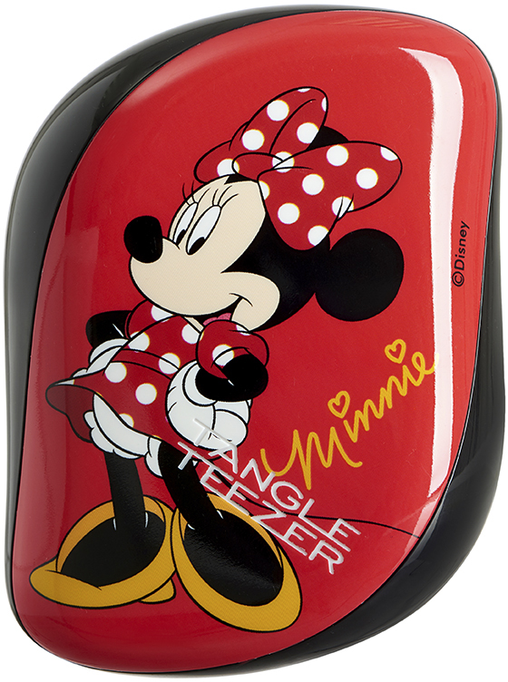 Tangle Teezer Расческа Compact Styler Minnie Mouse Rosy Red