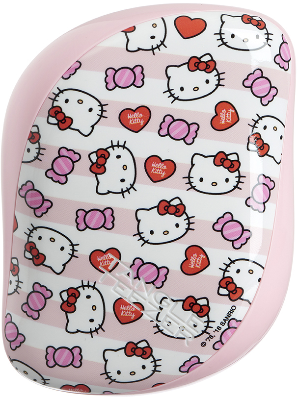 Tangle Teezer Расческа Compact Styler Hello Kitty Candy Stripes