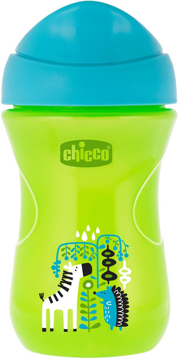 Фото - Chicco Чашка-поильник Easy Cup от 12 месяцев цвет зеленый 266 мл [супермаркет] jingdong геб scybe фил приблизительно круглая чашка установлена в вертикальном положении стеклянной чашки 290мла 6 z