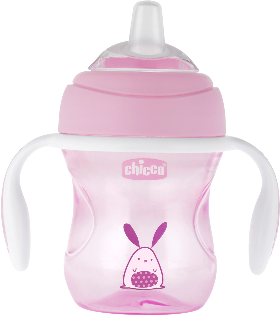 Фото - Chicco Чашка-поильник Transition Cup от 4 месяцев цвет розовый 200 мл [супермаркет] jingdong геб scybe фил приблизительно круглая чашка установлена в вертикальном положении стеклянной чашки 290мла 6 z