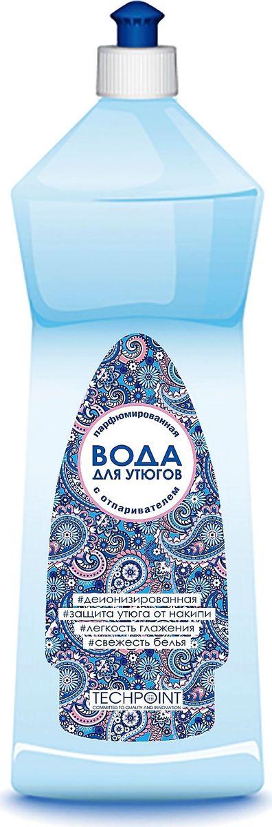 Вода парфюмированная для утюгов Techpoint, 1 л rail вода для утюгов с ароматом полевых цветов 950мл 12шт 20033