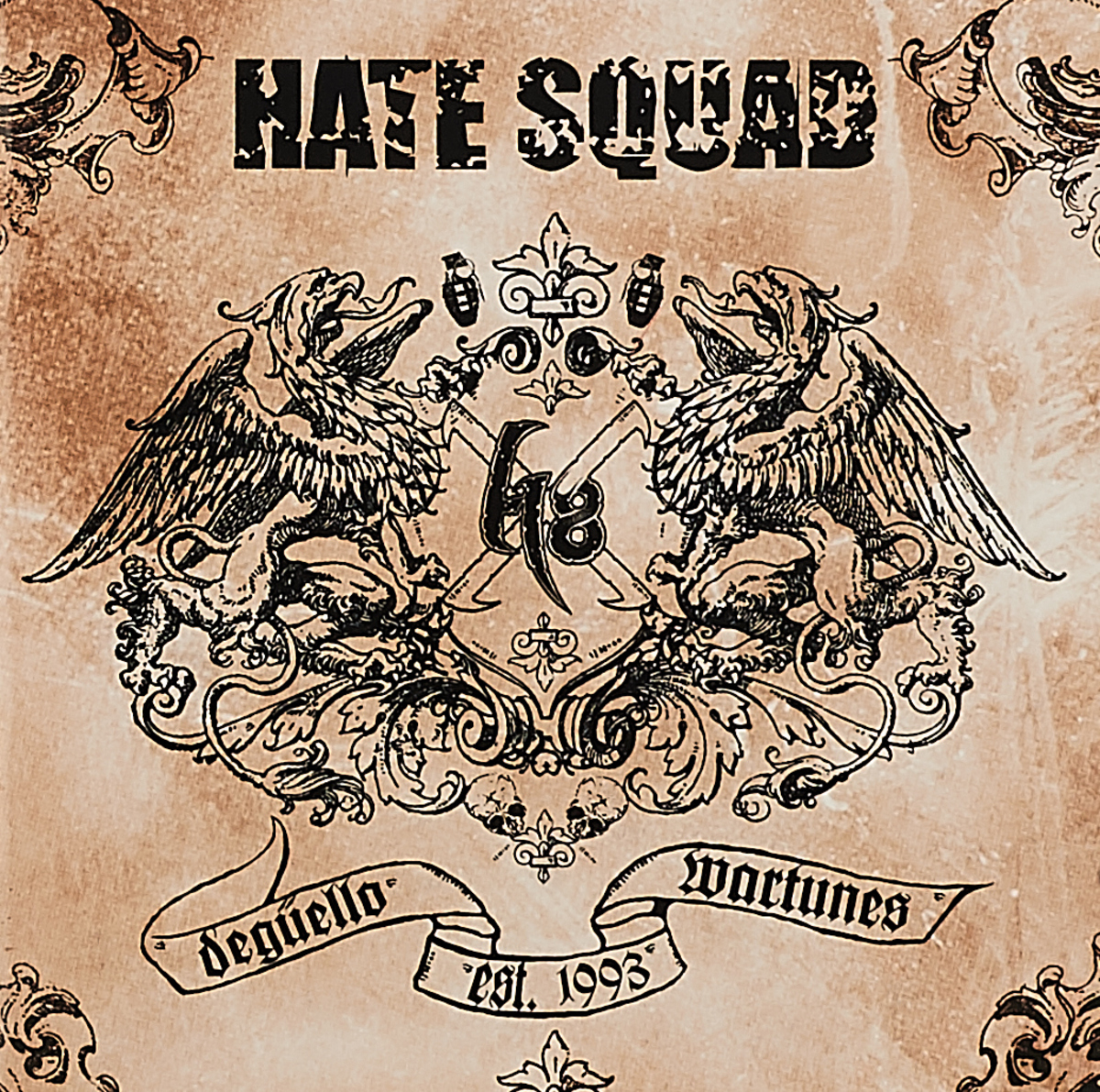 Фото - Hate Squad Hate Squad. Deguello Wartunes hate squad hate squad katharsis
