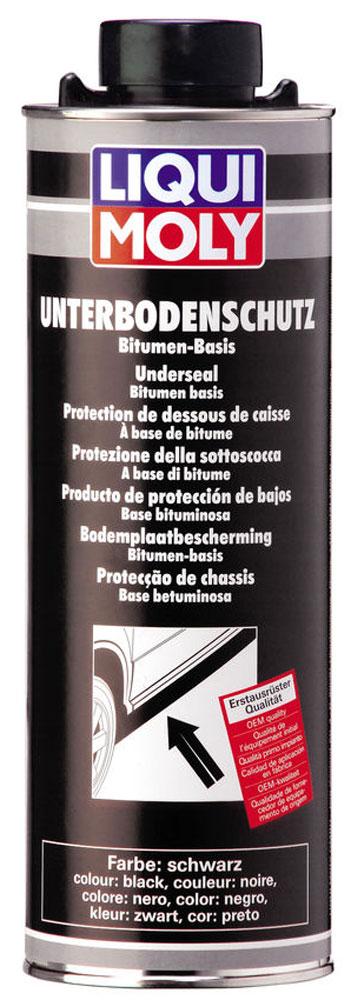 Антикор для днища кузова Liqui Moly Unterboden-Schutz Bitumen, цвет: черный средство для фиксации болтов liqui moly средняя фиксация 10 мл