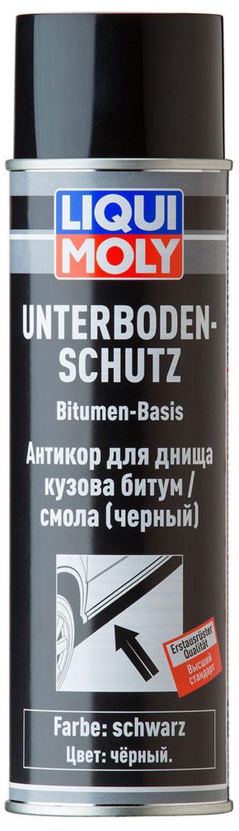 Антикор для днища кузова Liqui Moly Unterboden-Schutz Bitumen, цвет: черный. 8056 средство для фиксации болтов liqui moly средняя фиксация 10 мл