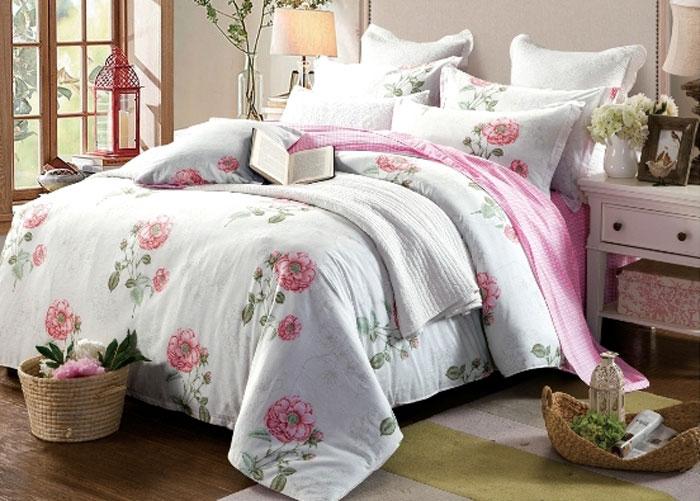 Комплект постельного белья Eleganta Adallina, евро, наволочки 50x70