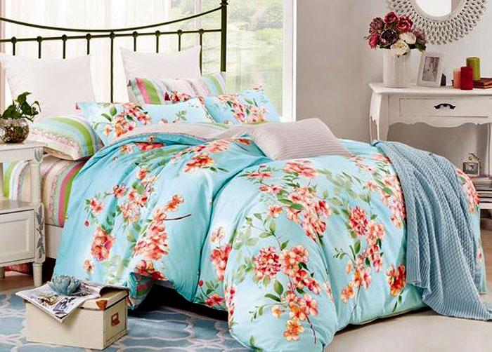 Комплект постельного белья Eleganta Vally, семейный, наволочки 50x70