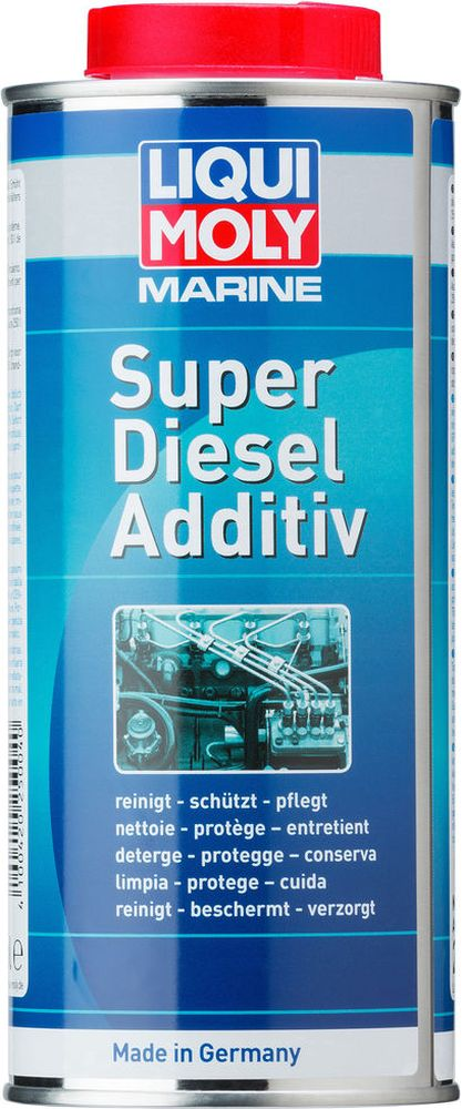 цена на Присадка супер-дизель Liqui Moly Marine Super Diesel Additive