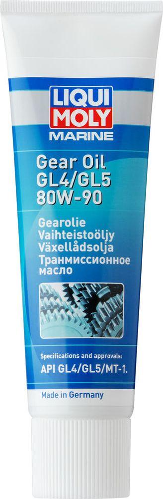Трансмиссионное масло Liqui Moly Marine Gear, минеральное, для водной техники, класс вязкости 80W-90, 0,25 л цена