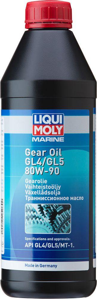 Трансмиссионное масло Liqui Moly Marine Gear, минеральное, для водной техники, класс вязкости 80W-90, 1 л цена