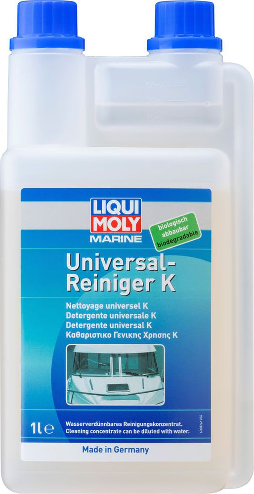 Очиститель Liqui Moly Marine Universal Reiniger K, лодочный, универсальный, концентрат цена