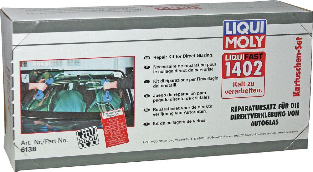 Набор для вклейки стекол Liqui Moly, среднемодульный цена