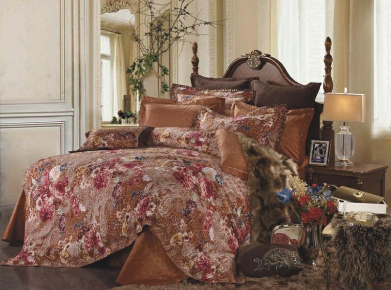 """Комплект белья СайлиД """"Berenice"""", 2-спальный, наволочки 50x70, цвет: кремовый"""