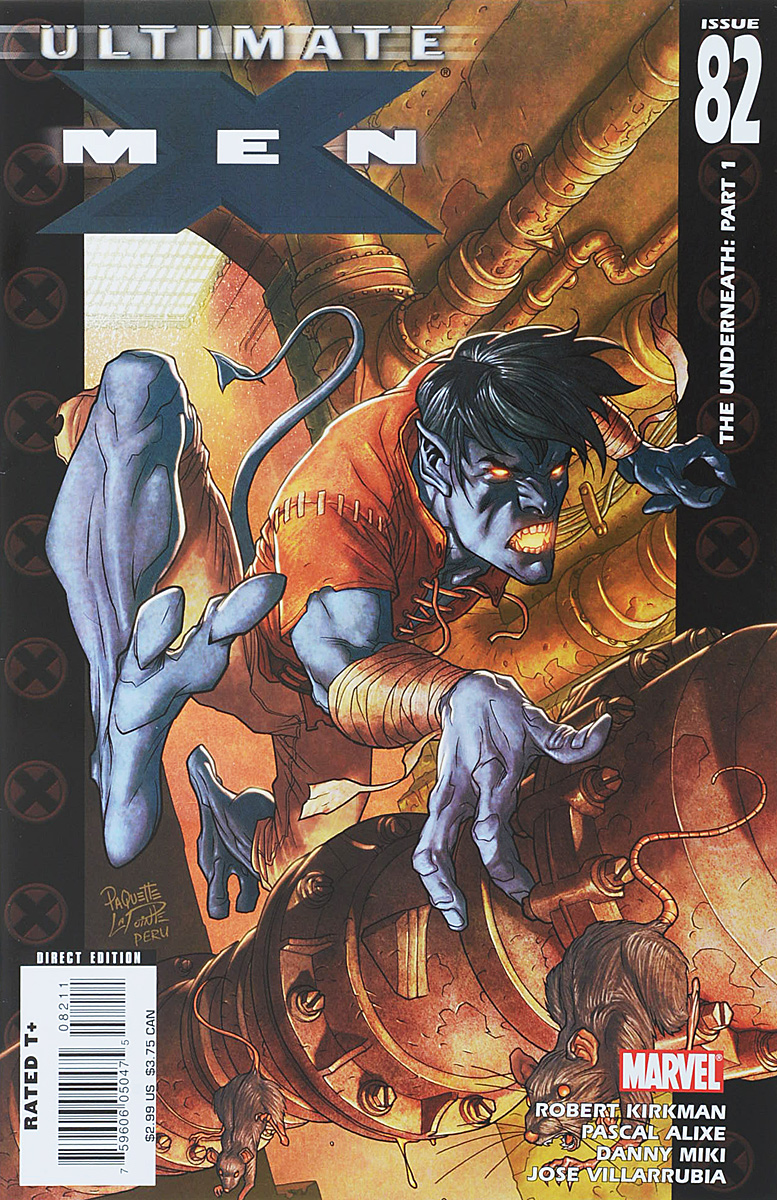 Robert Kirkman, Pascal Alixe, Danny Miki, Jose Villarrubia Ultimate X-Men #82 robert kirkman tom raney scott hanna ultimate x men 66