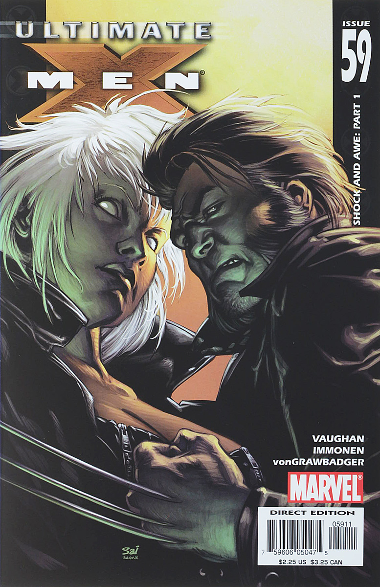 Brian K. Vaughan, Stuart Immonen, Wade Von Grawbadger Ultimate X-Men #59 brian k vaughan stuart immonen wade von grawbadger ultimate x men 59