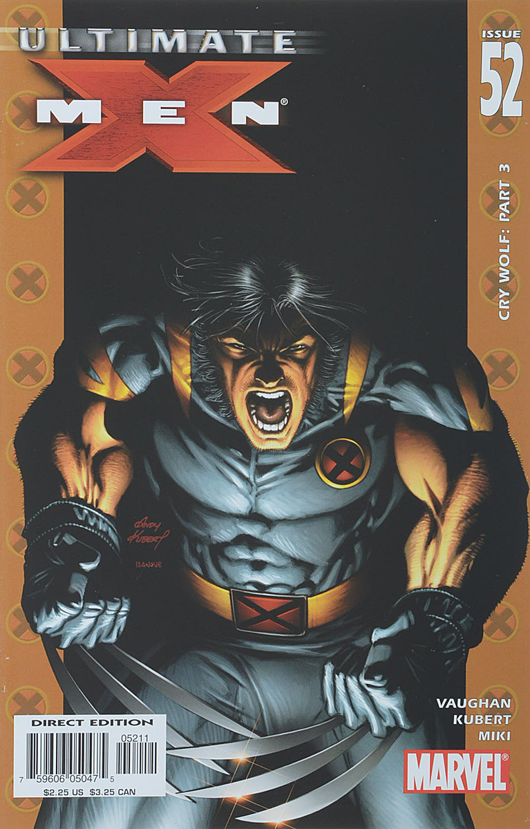 Brian K. Vaughan, Andy Kubert, Danny Miki Ultimate X-Men #52 remender r kubert a martin l avengers