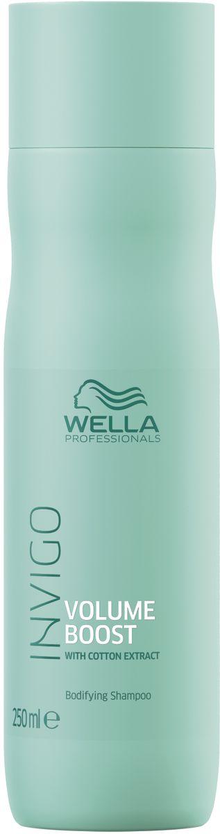 Wella Invigo Volume Boost Шампунь для придания объема, 250 мл