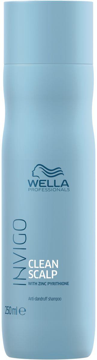 Wella Invigo Clean Scalp Шампунь против перхоти, 250 мл