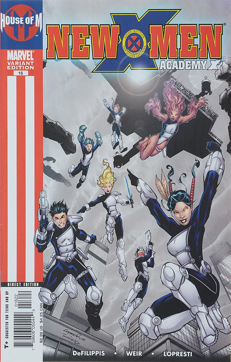 Nunzio DeFilippis, Christina Weir, Aaron Lopresti New X-Men #6 variant edition