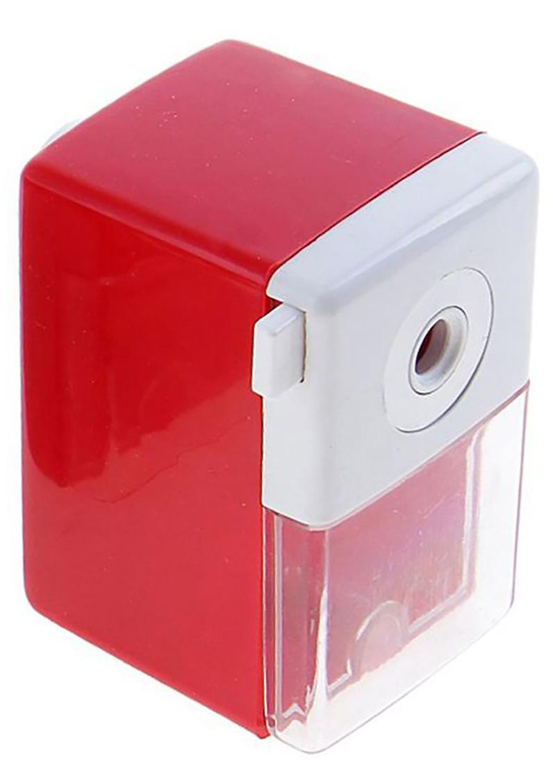 Точилка механическая с контейнером Классика Офис цвет красный 649807