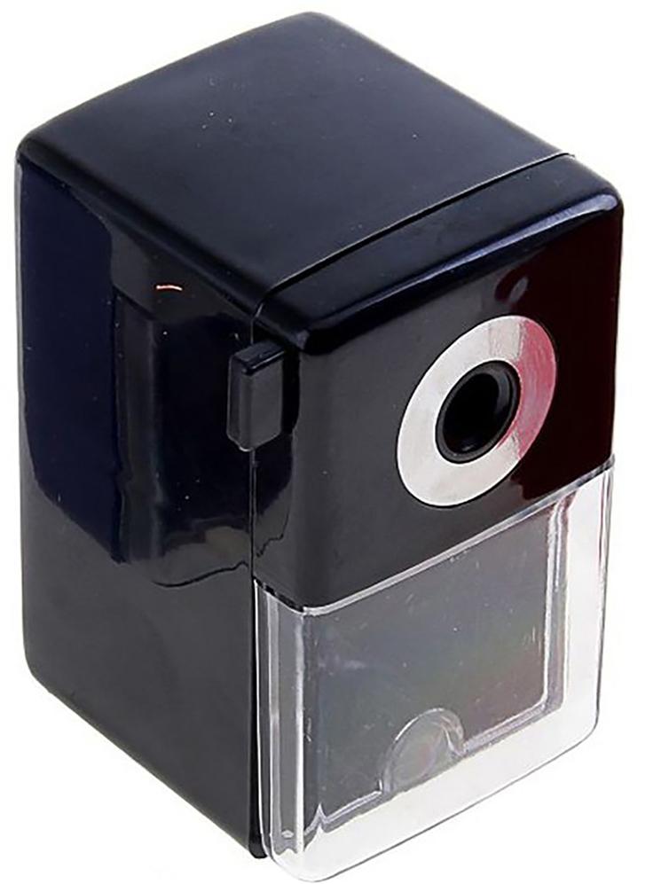Точилка механическая с контейнером Классика Офис цвет черный 649807