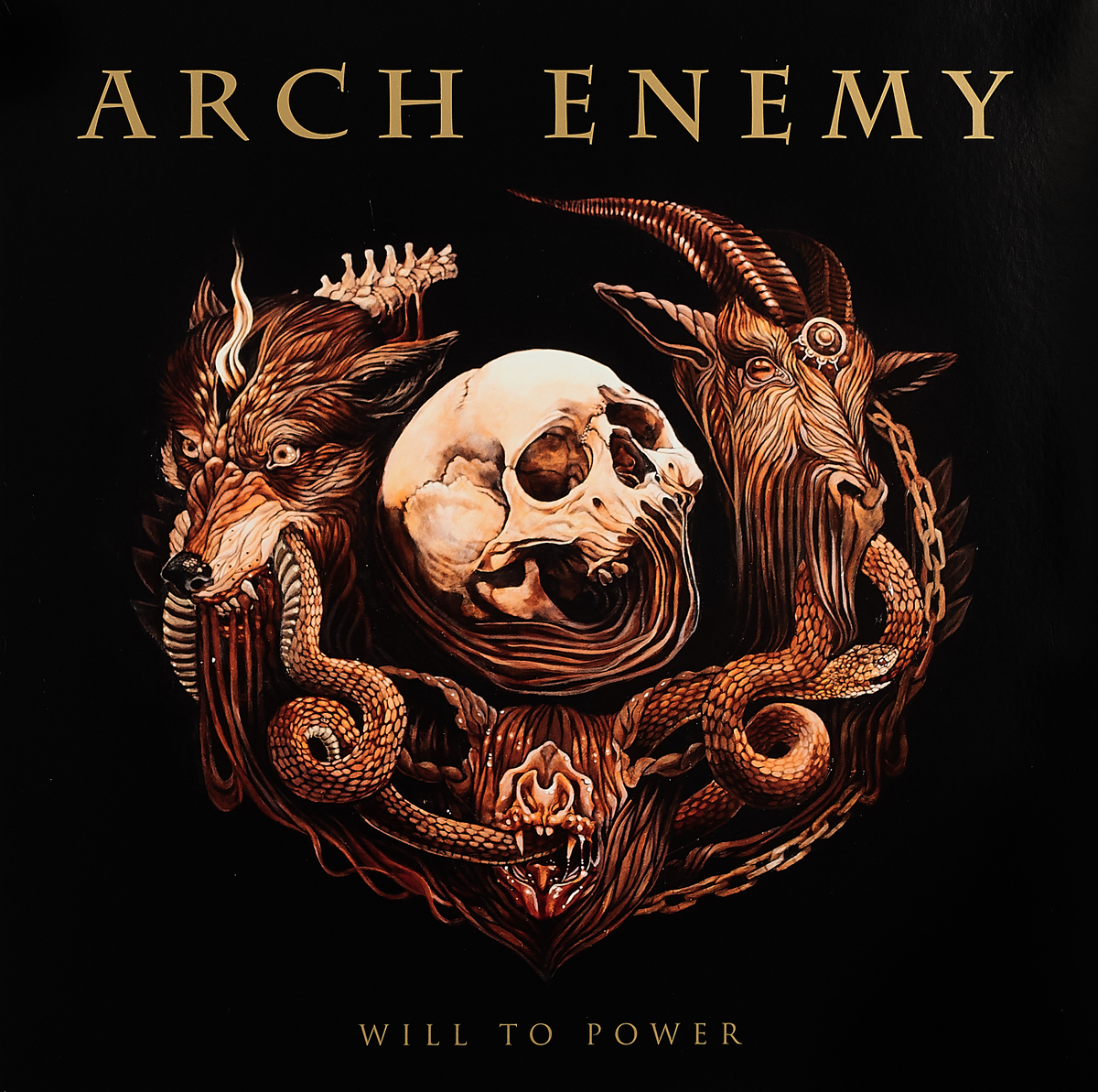 Arch Enemy Arch Enemy. Will To Power (LP + CD) arch enemy arch enemy burning bridges deluxe edition