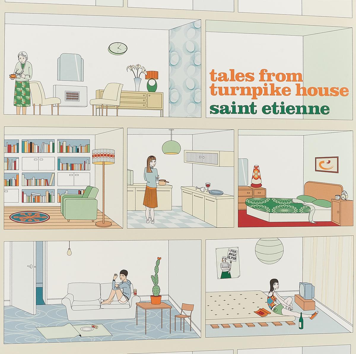 цена на Saint Etienne Saint Etienne. Tales From Turnpike House (Re-issue) (LP)