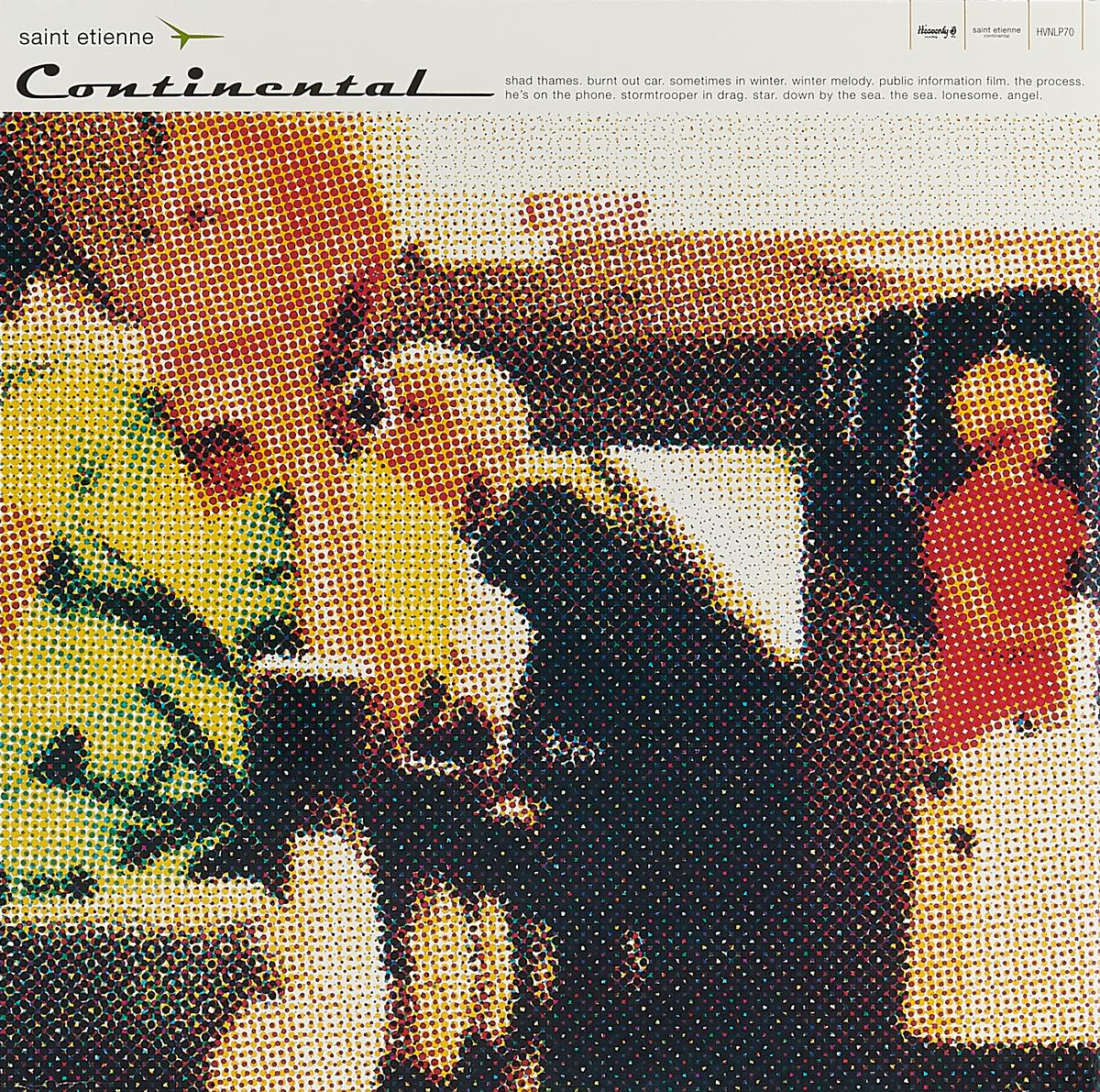 цена на Saint Etienne Saint Etienne. Continental (Re-issue) (LP)