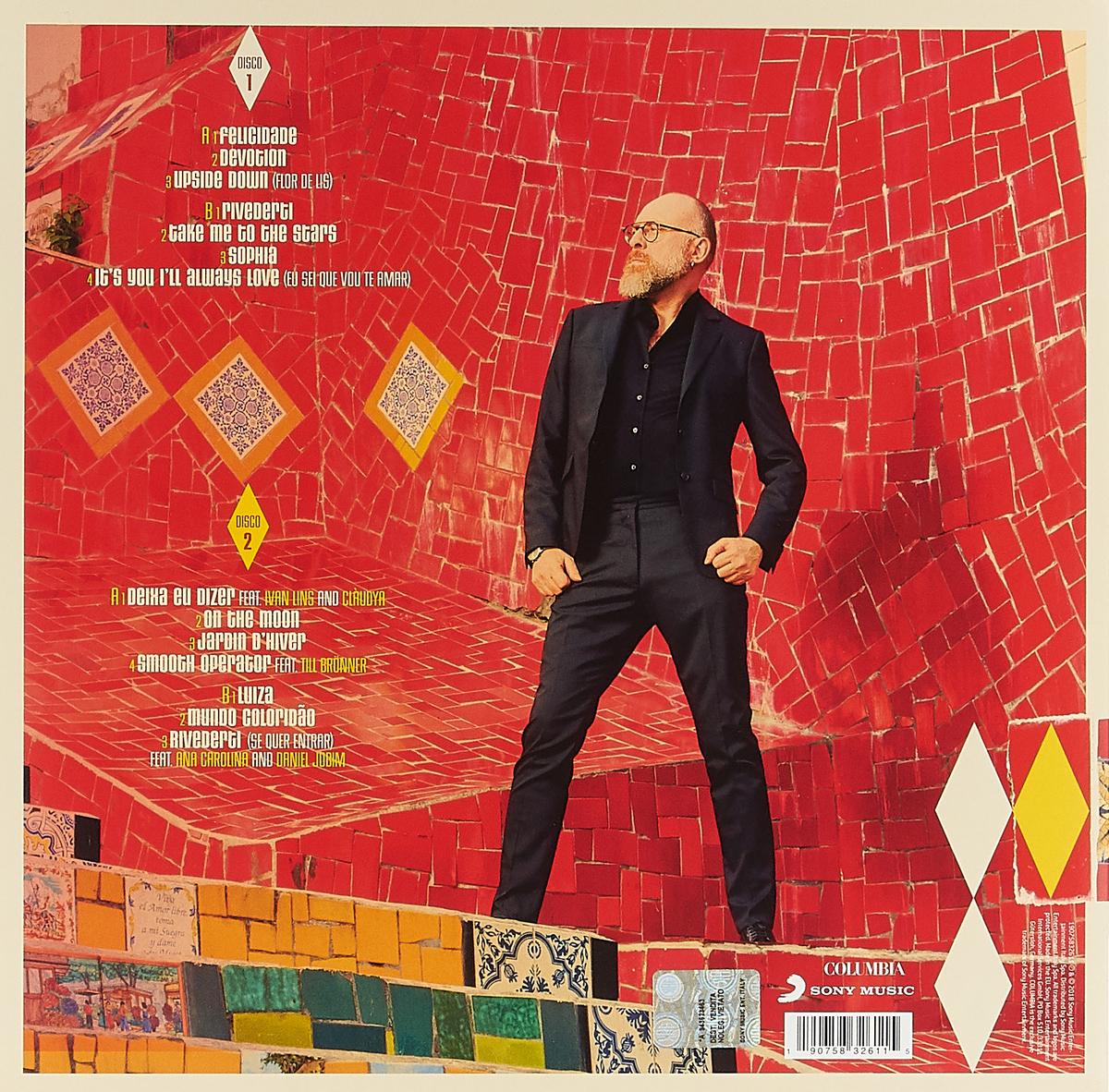 Марио Бионди Mario Biondi. Brasil (2 LP) марио бионди mario biondi best of soul 2 cd