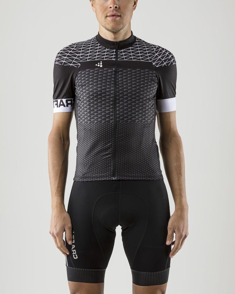 Майка мужская для велоспорта Craft Route, цвет: черный. 1906089/999900. Размер S (46)