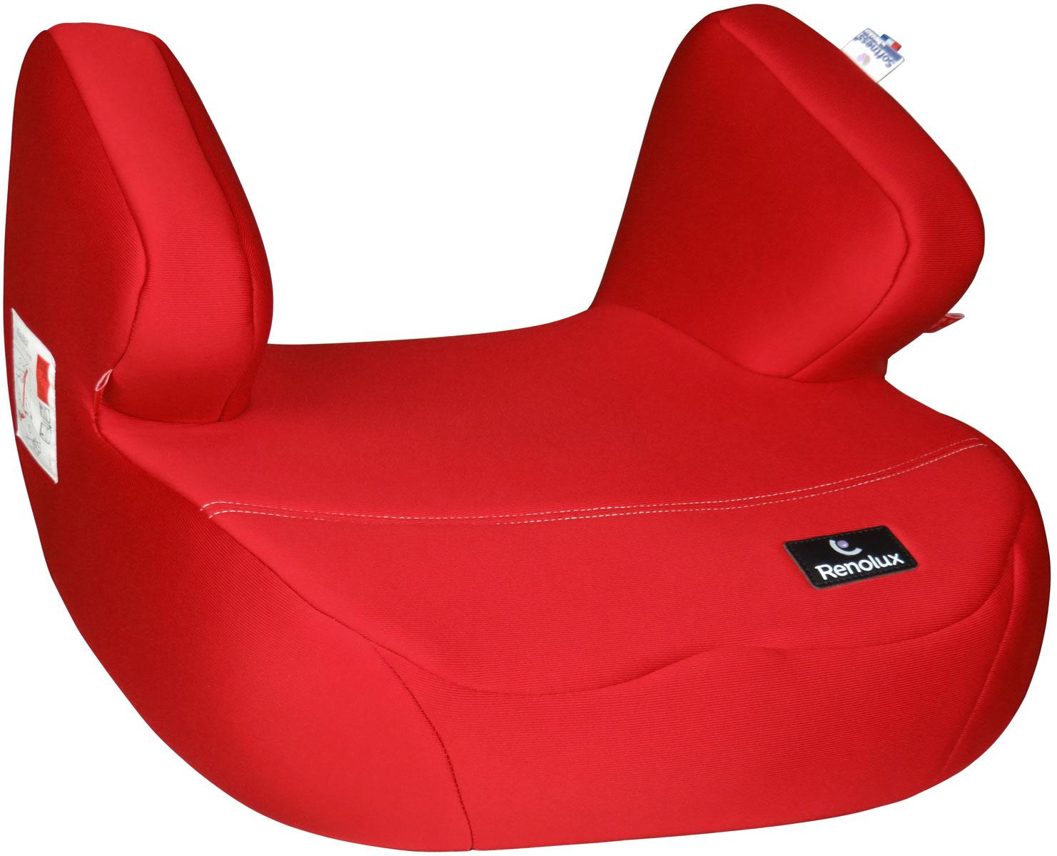 купить Renolux Автокресло-бустер Jet цвет красный по цене 3190 рублей
