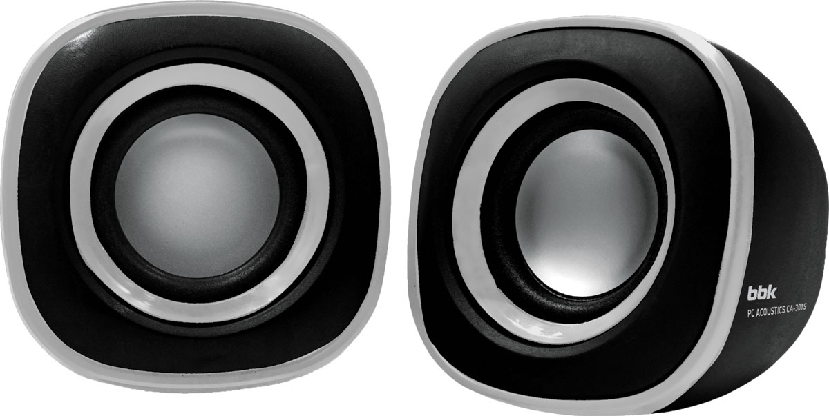 BBK CA-301S, Black Silver акустическая система