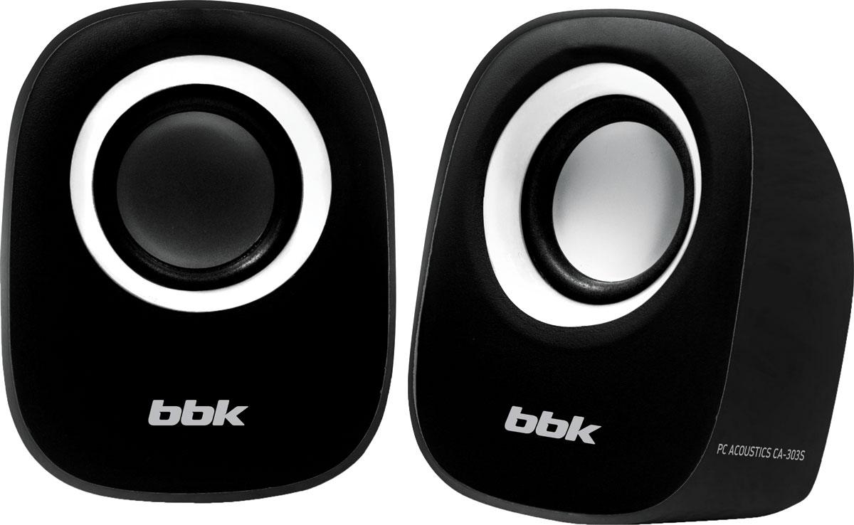 Компьютерная акустика BBK CA-303S, Black White bbk ca 201s white