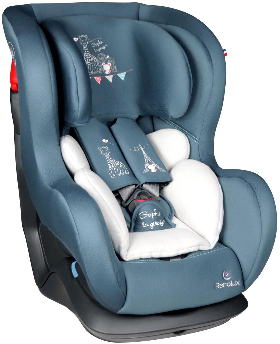 купить Автокресло Renolux Austin от 0 до 18 кг, 648665, бирюзовый, белый по цене 12790 рублей