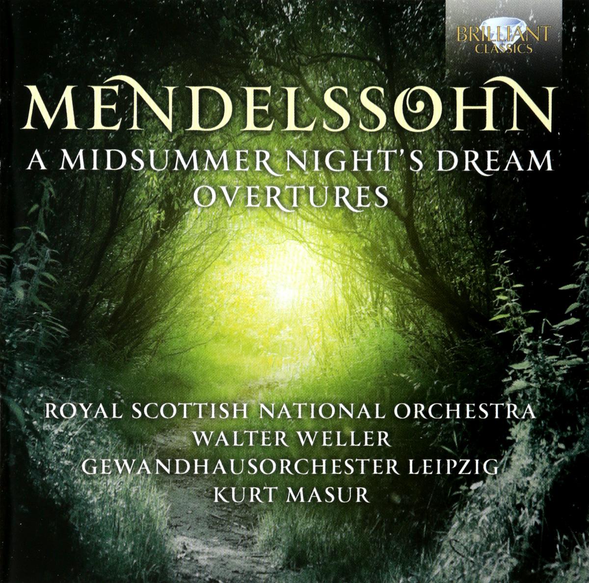 F. Mendelssohn-Bartholdy. Midsummer Night's Dream (2 CD) f mendelssohn bartholdy lettere di felix mendelssohn bartholdy 1830 1847 volume 2