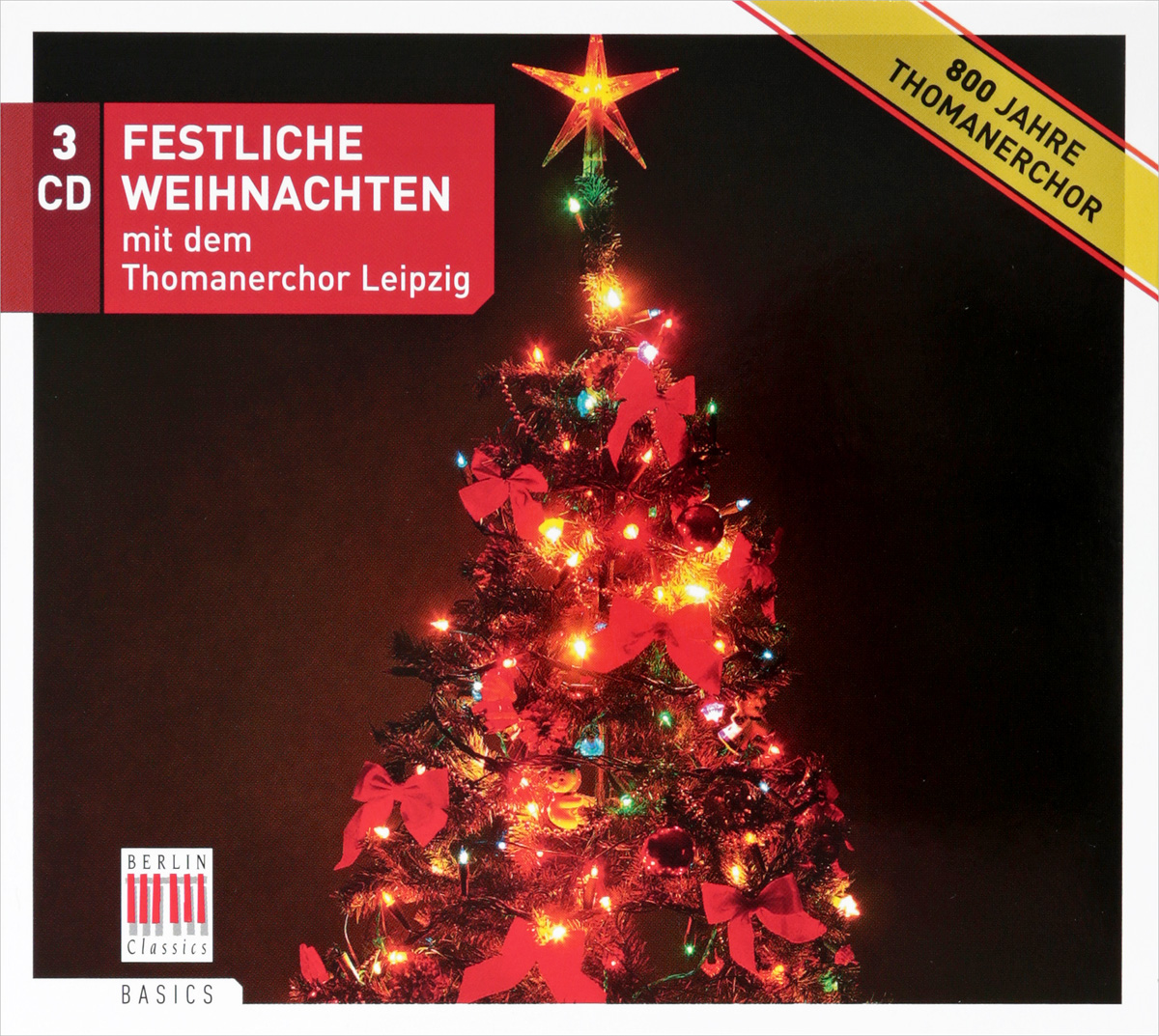 Thomanerchor Leipzig Festliche Weihnachten Von Thomanerchor Leipzig (3 CD)