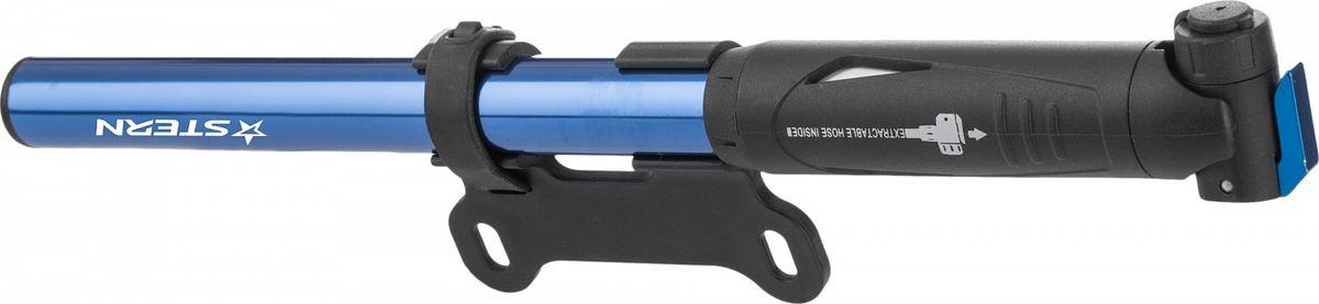 Фото - Насос велосипедный Stern Pump, цвет: синий авто