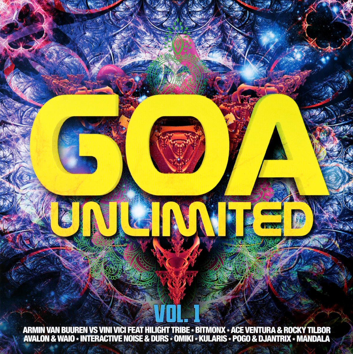 лучшая цена Various Artists Various Artists. Goa Unlimited Vol.1 (2 CD)