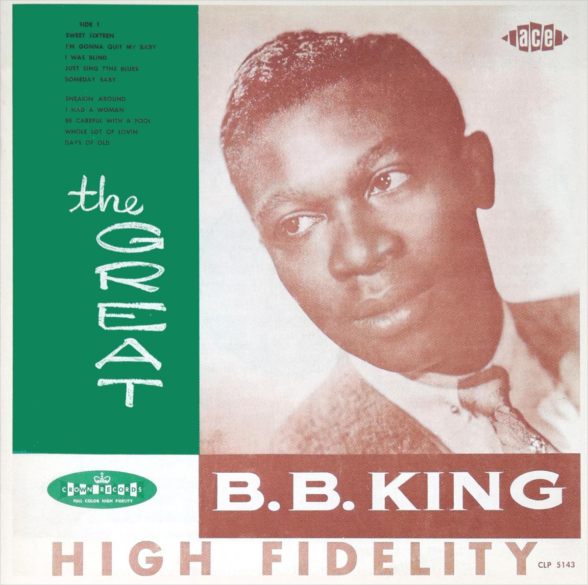 цена на Би Би Кинг B. B. King And His Orchestra. The Great B.B. King