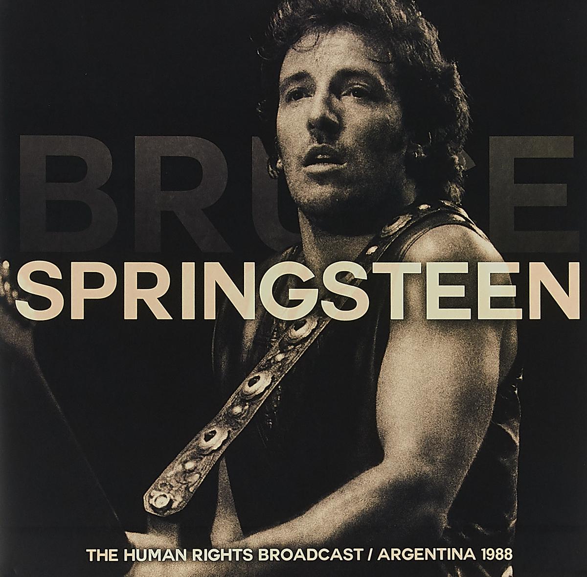 Брюс Спрингстин Bruce Springsteen. The Human Rights Broadcast / Argentina 1988 (2 LP) bruce springsteen bruce springsteen human touch 2 lp