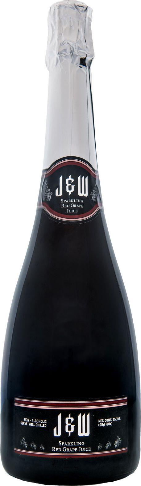 J&W Вино игристое красное безалкогольное, 0,75 л halal