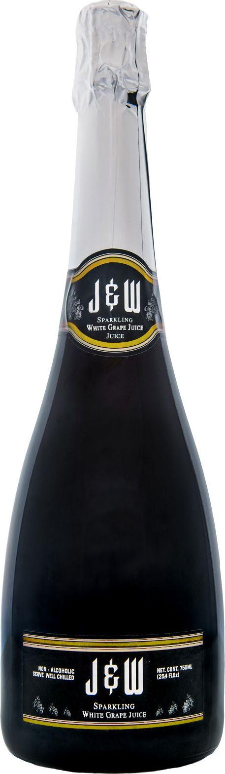 J&W Вино игристое белое безалкогольное, 0,75 л halal