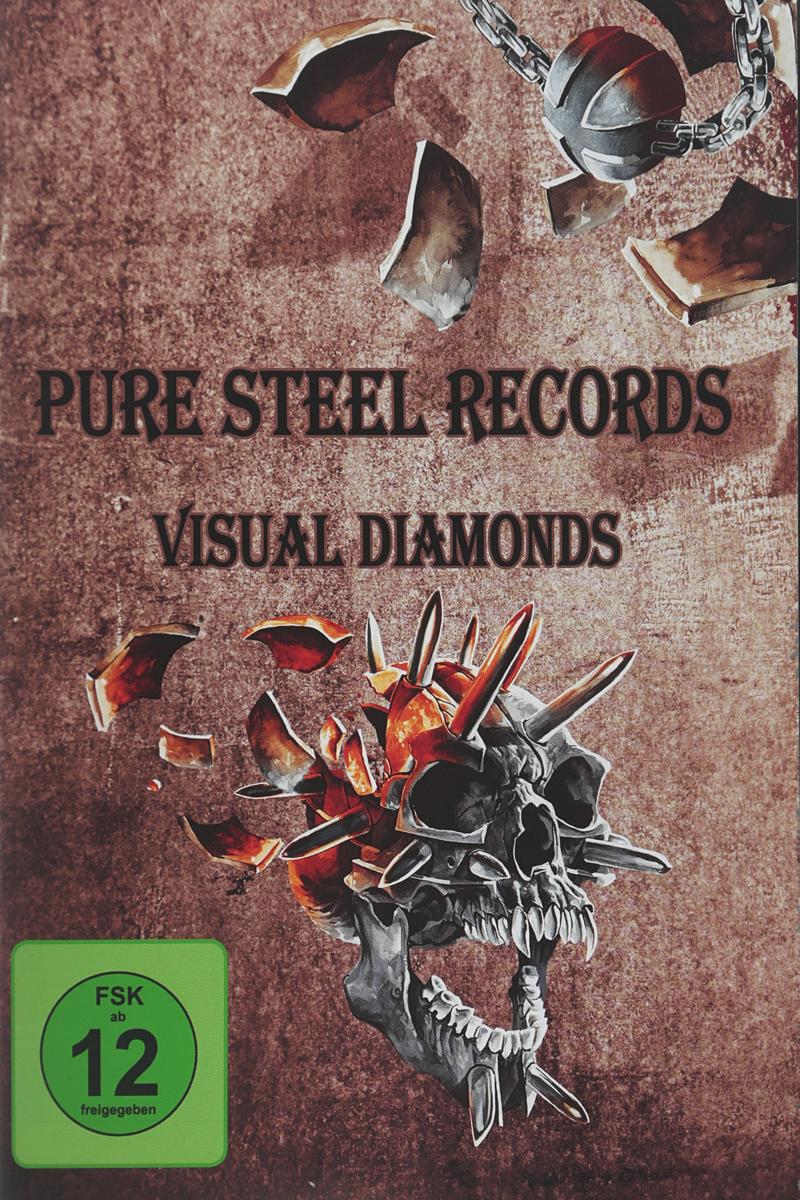 Various Artists Various Artists. Pure Steel Records - Visual Diamonds (DVD) various artist facedown fest 2004 2 dvd