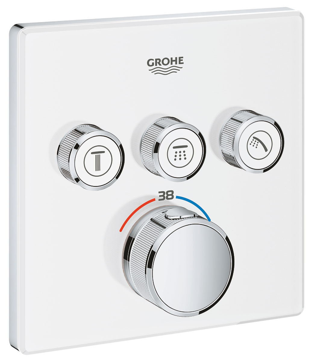 Внешняя часть термостата Grohe Grohtherm SmartControl. 29157LS0 набор подключения для универсального термостата grohe 47533000