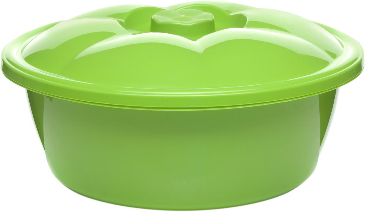 Таз StarPlast, с крышкой, цвет в ассортименте, 7 л таз starplast овальный цвет зеленый 25 л