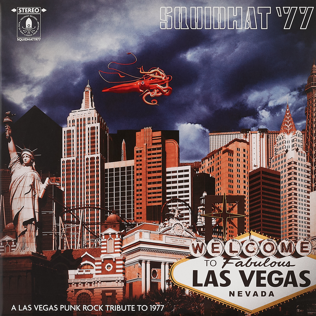 Squidhat '77: A Las Vegas Punk Rock Tribute To 1977 (LP) цена