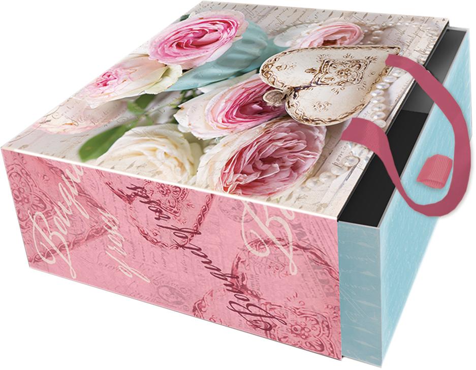 Коробка подарочная Magic Home Сердце-подвеска. 76865 коробка подарочная magic home апрельский париж 42359