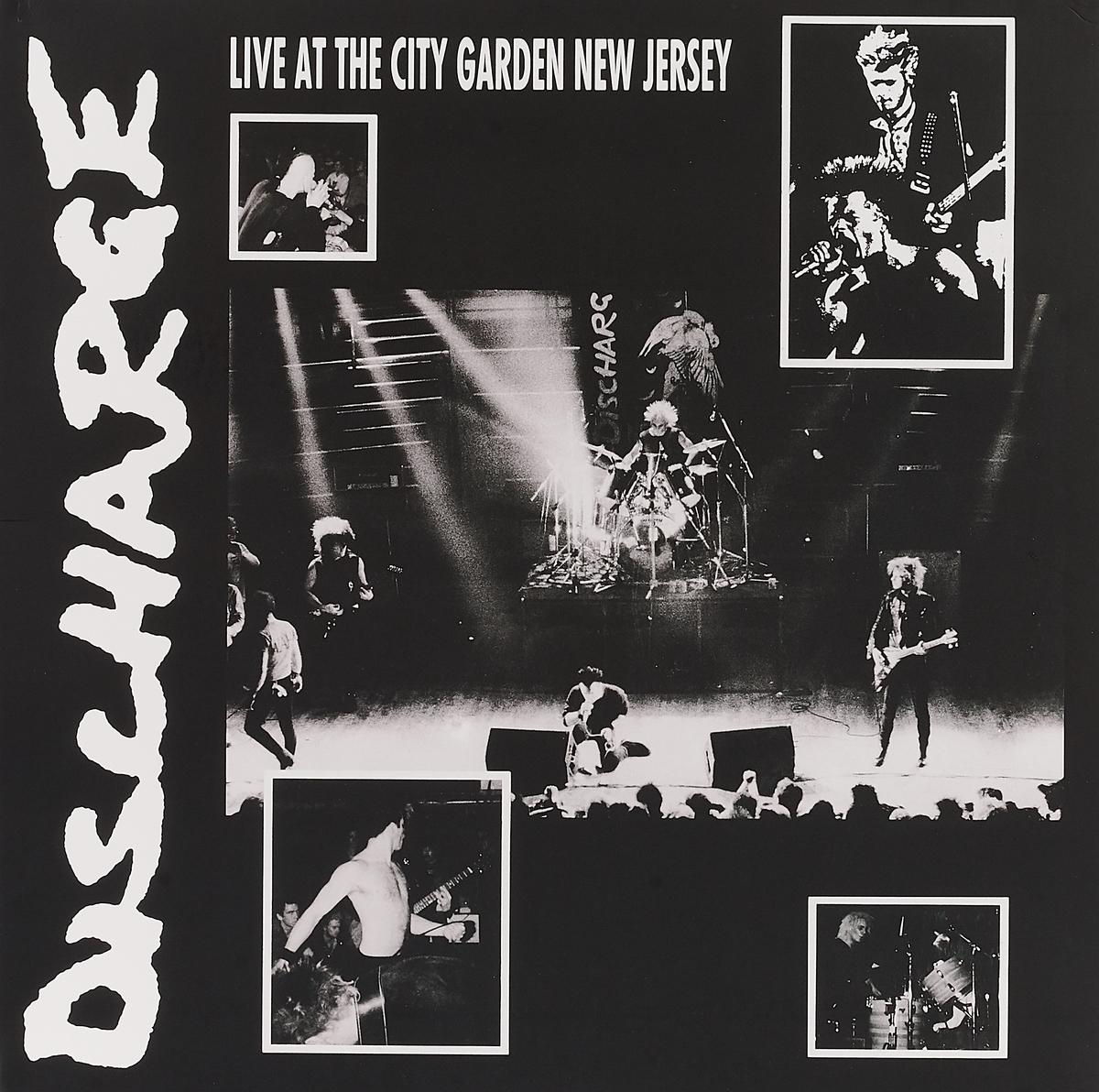 Discharge Discharge. Live At City Garden New Jersey (LP) sandy mertens new jersey atlantic city boardwalk then and now tiles