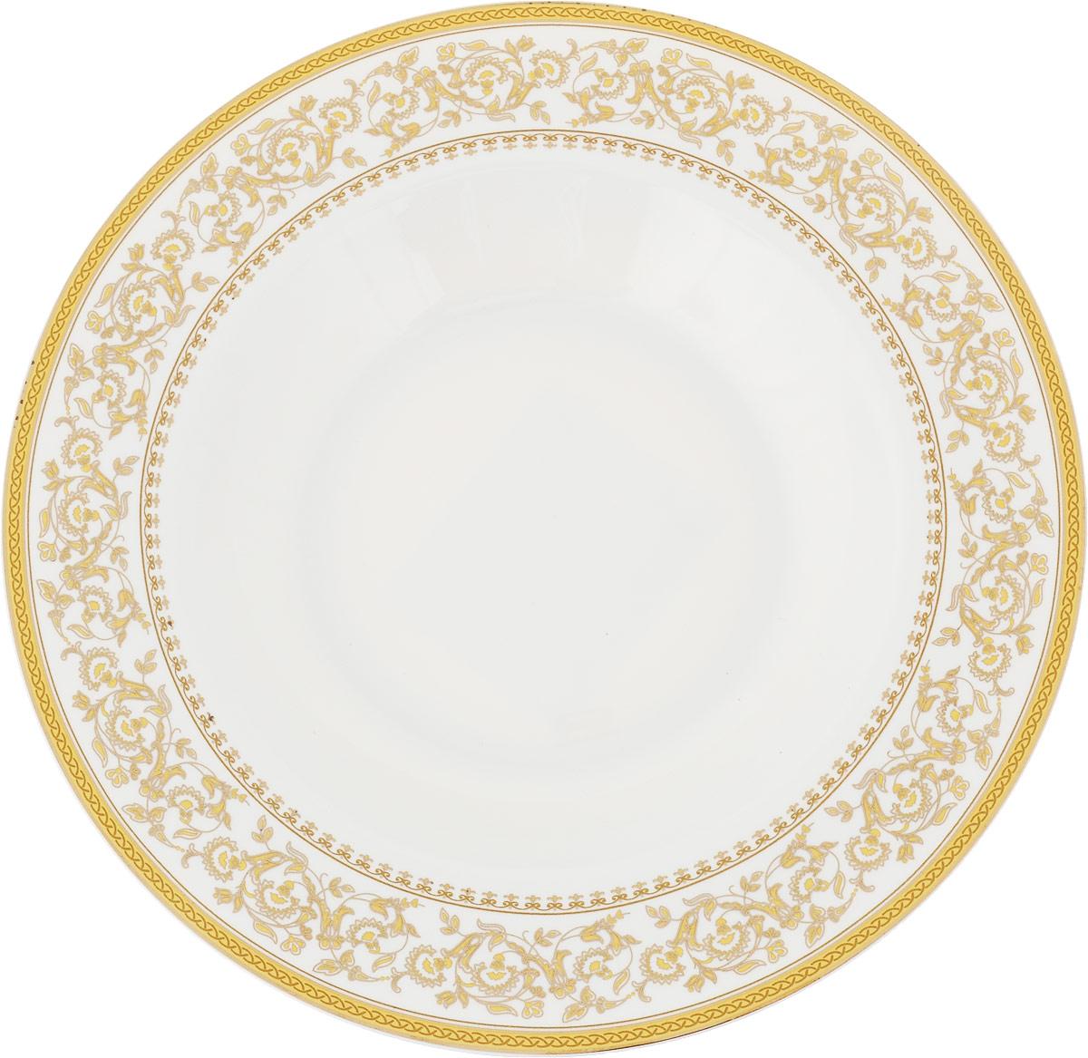 Тарелка суповая МФК-профит Империя, диаметр 21,5 см коврики в салон автомобиля norplast npl po 46 65