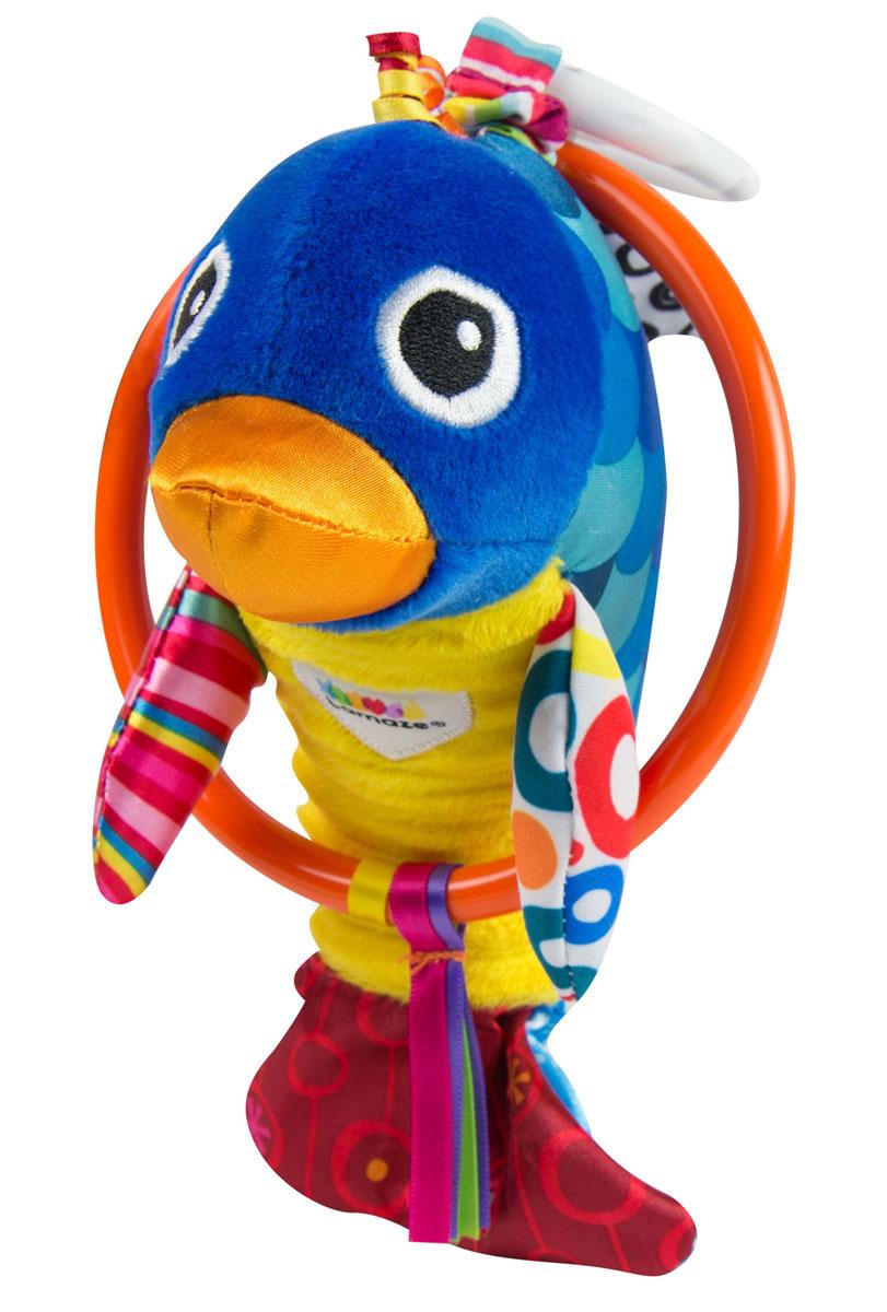 Tomy Развивающая игрушка Веселый дельфинчик tomy развивающая игрушка веселый страус
